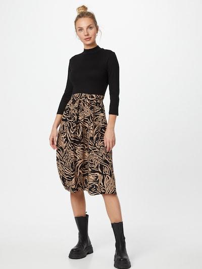 Dorothy Perkins Šaty - piesková / čierna, Model/-ka