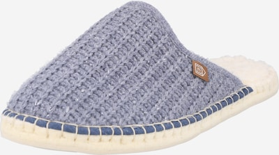 espadrij l´originale Hausschuh in taubenblau, Produktansicht
