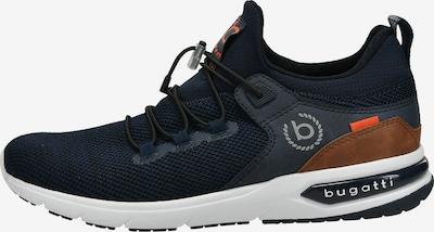 bugatti Sneaker 'Numbis' in dunkelblau / karamell, Produktansicht