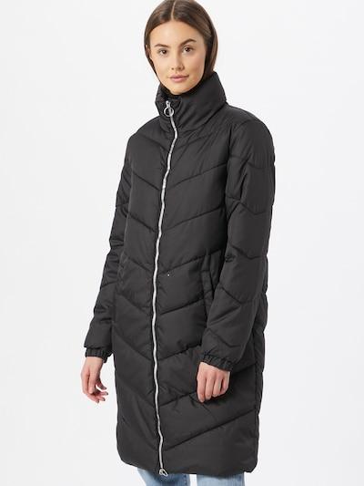 JDY Manteau d'hiver 'Finno' en noir, Vue avec modèle