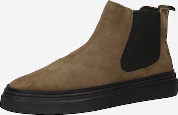 The Original 1936 Copenhagen Chelsea Boots 'The Carlos' in Green