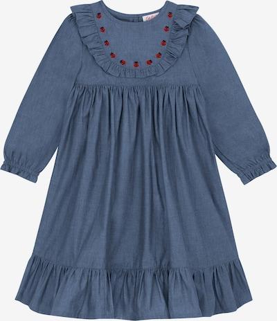 Cath Kidston Kleid 'Isabella' in taubenblau / rot / schwarz, Produktansicht