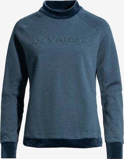 VAUDE Langarmshirt in blau, Produktansicht