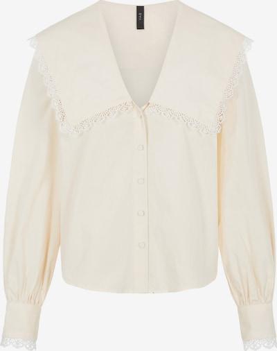 Y.A.S Bluse in creme, Produktansicht