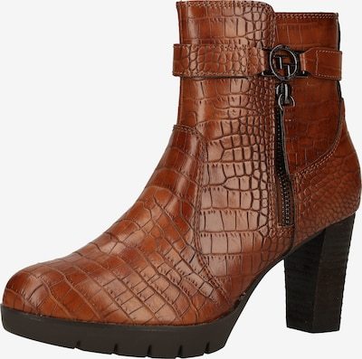 TOM TAILOR Bottines en marron, Vue avec produit