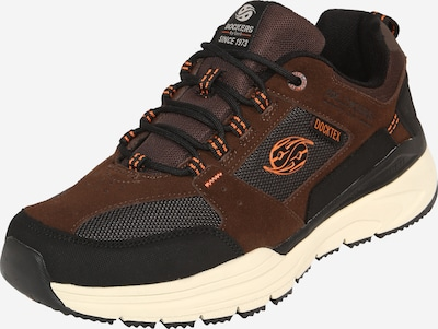 Dockers by Gerli Sneakers laag in de kleur Bruin / Oker / Sinaasappel / Zwart, Productweergave
