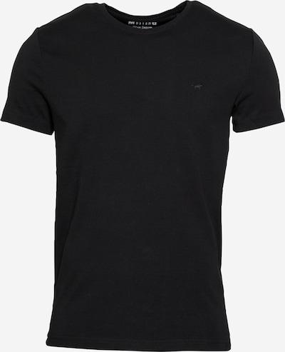 MUSTANG T-Shirt 'Aaron' in schwarz, Produktansicht