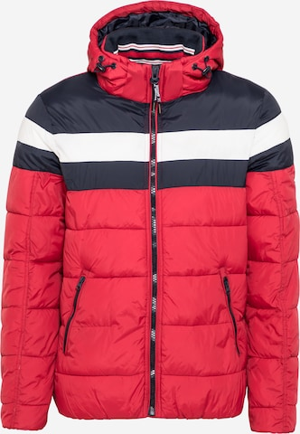 INDICODE JEANS Jacke 'AGRIPPA' in Rot