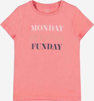 NAME IT Shirt in navy / rosé / weiß, Produktansicht
