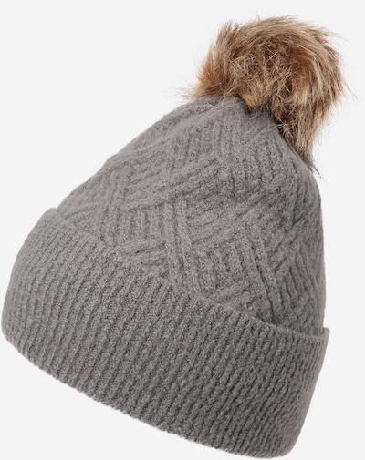 Megzta kepurė 'Sarika' iš PIECES , spalva - pilka, Prekių apžvalga
