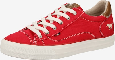 MUSTANG Sneaker in rot: Frontalansicht