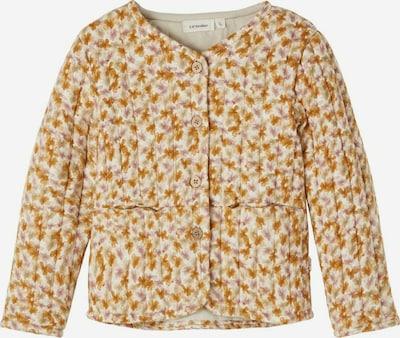 NAME IT Jacke in beige / karamell / rosé / naturweiß, Produktansicht