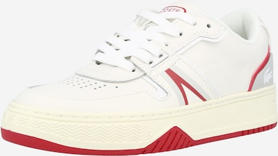 LACOSTE Sneaker in rot / weiß, Produktansicht