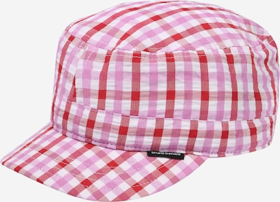 BRUNO BANANI Cap in pink / rot / weiß, Produktansicht