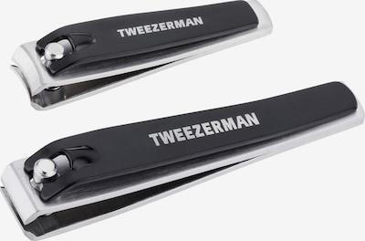 TWEEZERMAN Nagelknipser in schwarz / silber, Produktansicht