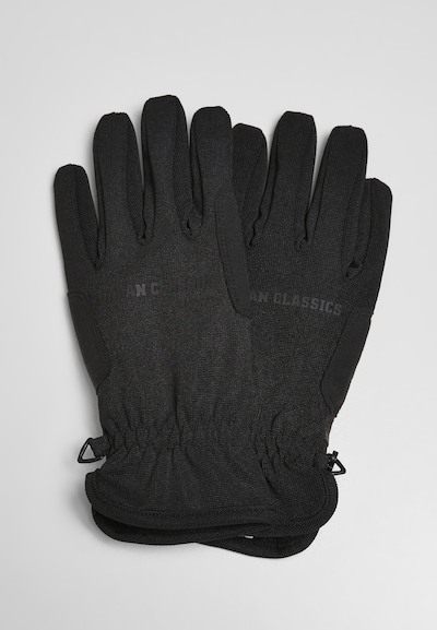 Urban Classics Wanten ' Performance Winter Gloves ' in de kleur Zwart, Productweergave