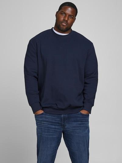 Jack & Jones Plus Sweatshirt in navy: Frontalansicht