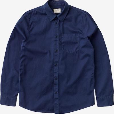 Nudie Jeans Co Hemd ' Chet Pigment Dye ' in navy, Produktansicht
