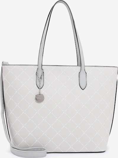 TAMARIS Shopper 'Anastasia' in Light grey / White, Item view