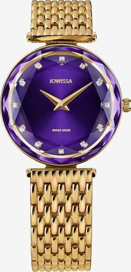 JOWISSA Uhr in goldgelb / lila, Produktansicht