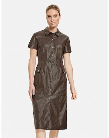 TAIFUN Dress in Brown