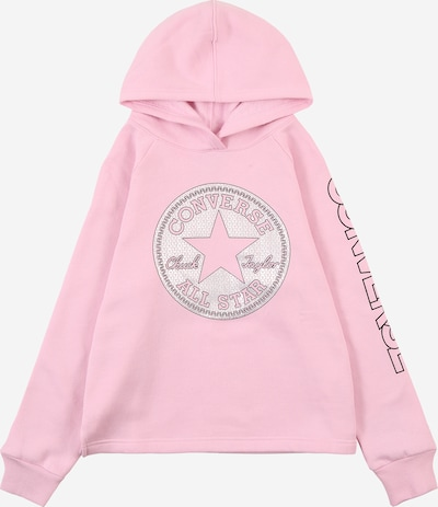 CONVERSE Sweatshirt in pink / weiß, Produktansicht