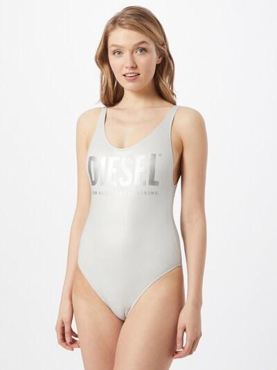DIESEL Jednodielne plavky 'LIA' - strieborná / biela, Model/-ka