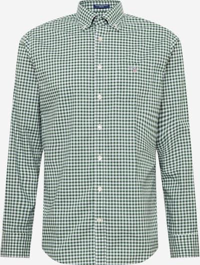GANT Hemd in grün / weiß, Produktansicht