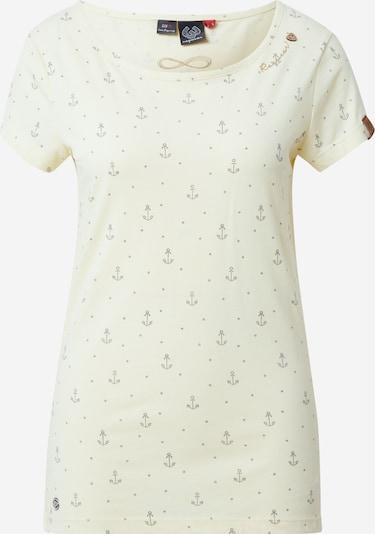 Ragwear T-Shirt 'MINT MARINA' in braun / gelb / hellgelb / schwarz, Produktansicht