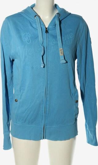 TOM TAILOR Sweatjacke in L in blau, Produktansicht