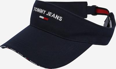 Tommy Jeans Keps i marinblå / ljusröd / vit, Produktvy