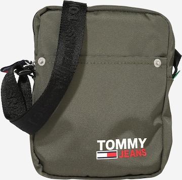 zaļš Tommy Jeans Pleca soma 'Campus'