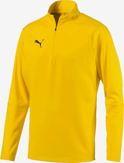 PUMA Sweatshirt in gelb: Frontalansicht