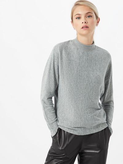 OPUS Pullover 'Sevoma' in graumeliert, Modelansicht