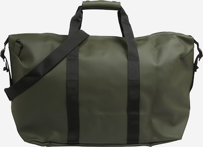 RAINS Ceļojumu soma, krāsa - zaļš / melns, Preces skats