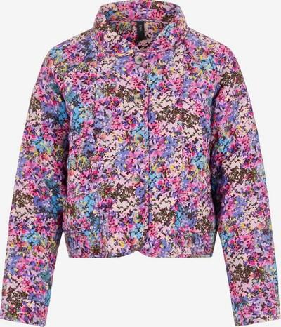 Y.A.S Jacke in blau / türkis / gelb / lila / pink / schwarz, Produktansicht