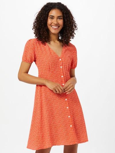 LTB Šaty 'PEHOLI' - oranžovo červená / biela, Model/-ka