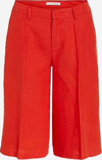 OUI Bügelfaltenhose in rot, Produktansicht