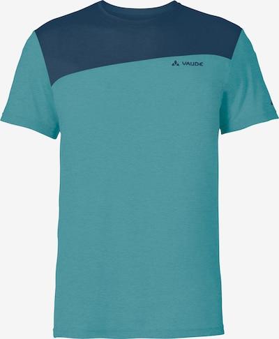 VAUDE T-Shirt 'Sveit' in marine / hellblau, Produktansicht