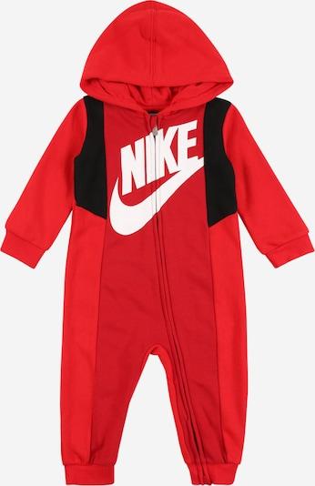 Nike Sportswear Kombinezons sarkans / melns / balts, Preces skats
