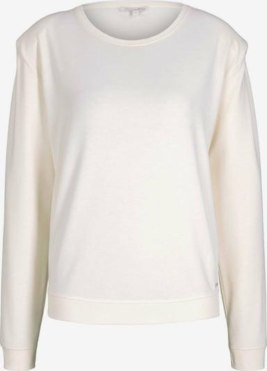 TOM TAILOR DENIM Sweatshirt in Cream, Item view