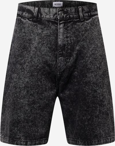 WEEKDAY Jeans in de kleur Zwart, Productweergave