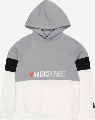 Abercrombie & Fitch Sweatshirt in grey / red / black / white, Item view