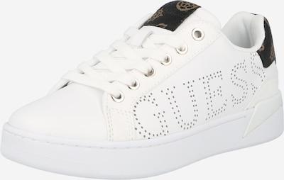 Sneaker low 'RORIA' GUESS pe bej închis / negru / alb, Vizualizare produs