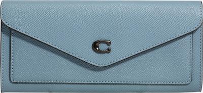 COACH Портмоне в опушено синьо, Преглед на продукта