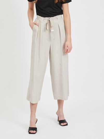 VILA Trousers in Taupe, View model