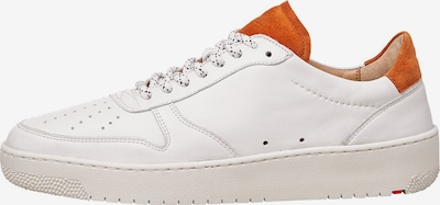 LLOYD Sneaker in dunkelorange / weiß, Produktansicht