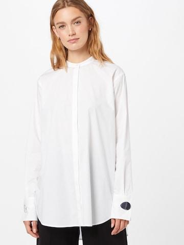HUGO Bluse 'Ethela' in Weiß