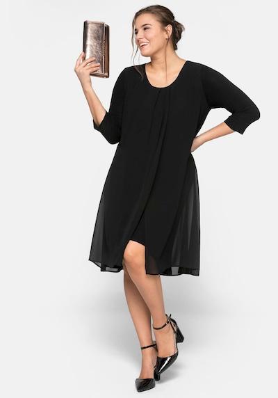 SHEEGO Haljina u crna, Prikaz modela