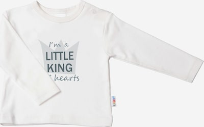 LILIPUT Langarmshirt 'Little King' in ecru, Produktansicht